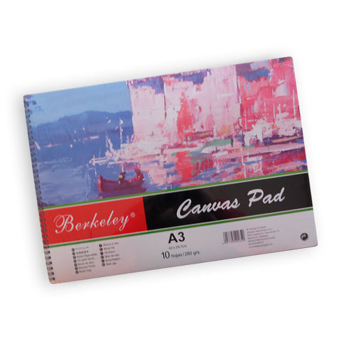 Berkeley Canvas Pad A3 280gsm