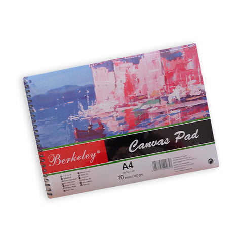 Berkeley Canvas Pad A4 280gsm