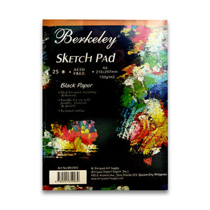 Berkeley Sketch Pad - Black Paper