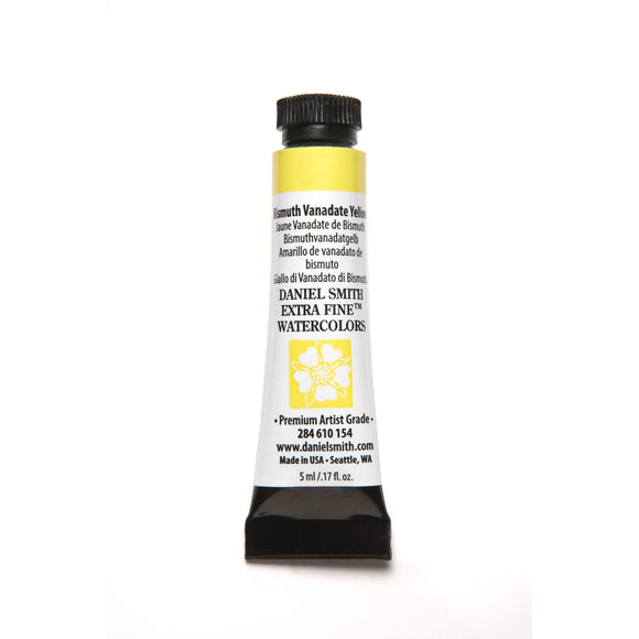 Daniel Smith Extra Fine Watercolor 5mL - Bismuth Vanadate Yellow