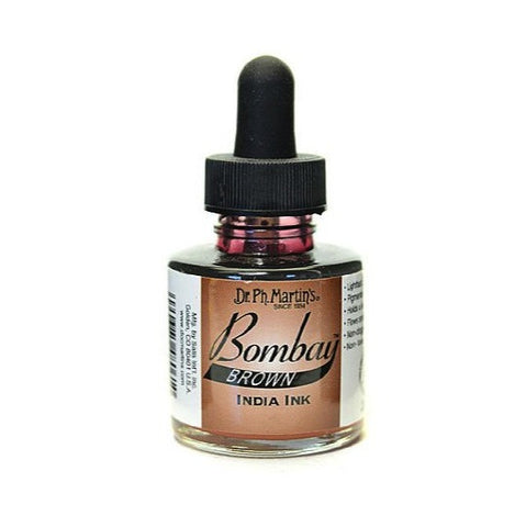 Dr. Ph. Martin's Bombay India Ink 30mL - 6BY Brown