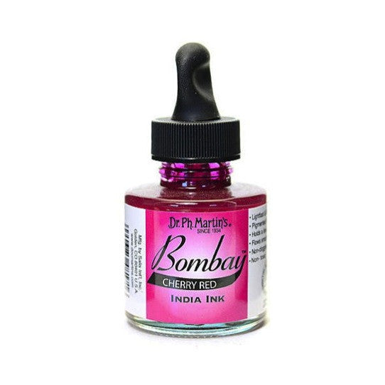 Dr. Ph. Martin's Bombay India Ink 30mL - 17BY Cherry Red