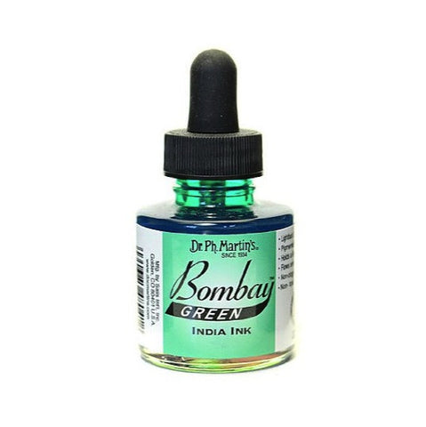 Dr. Ph. Martin's Bombay India Ink 30mL - 4BY Green