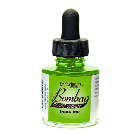 Dr. Ph. Martin's Bombay India Ink 30mL - 12BY Grass Green