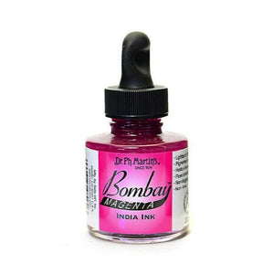 Dr. Ph. Martin's Bombay India Ink 30mL - 3BY Magenta