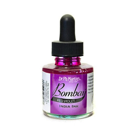 Dr. Ph. Martin's Bombay India Ink 30mL - 18BY Red Violet