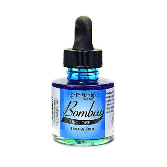 Dr. Ph. Martin's Bombay India Ink 30mL - 20BY Turquoise