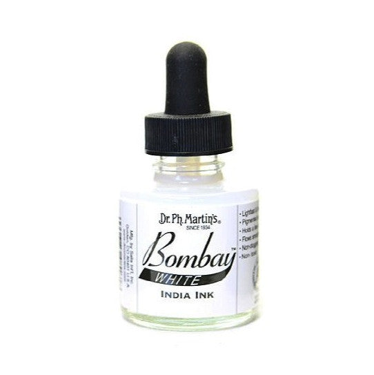 Dr. Ph. Martin's Bombay India Ink 30mL - 8BY White