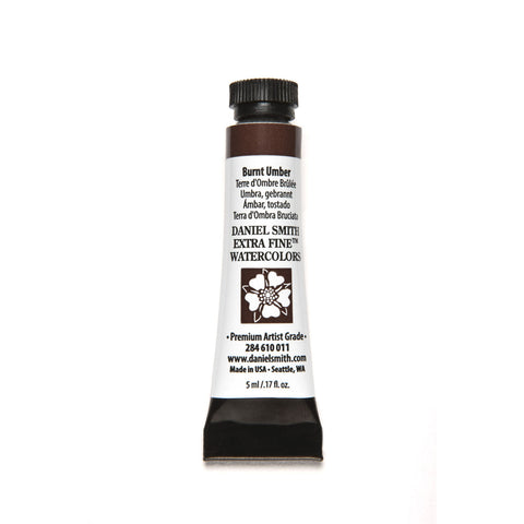 Daniel Smith Extra Fine Watercolor 5mL - Burnt Umber