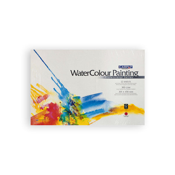 Campap Watercolor Painting Sheets 300gsm 229x305mm