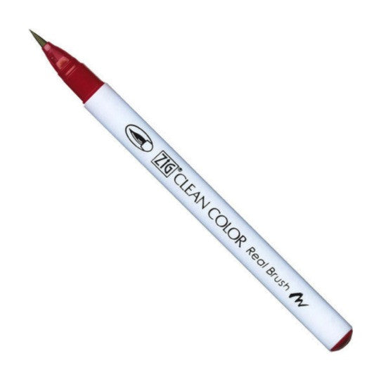 Kuretake Clean Color Real Brush Pen - Deep Red