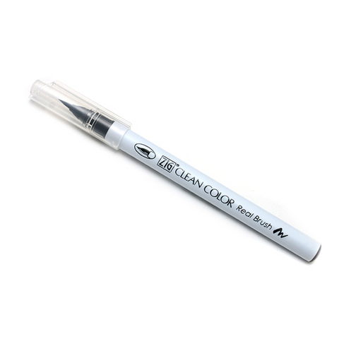 Kuretake Clean Color Real Brush Pen - 010 Black