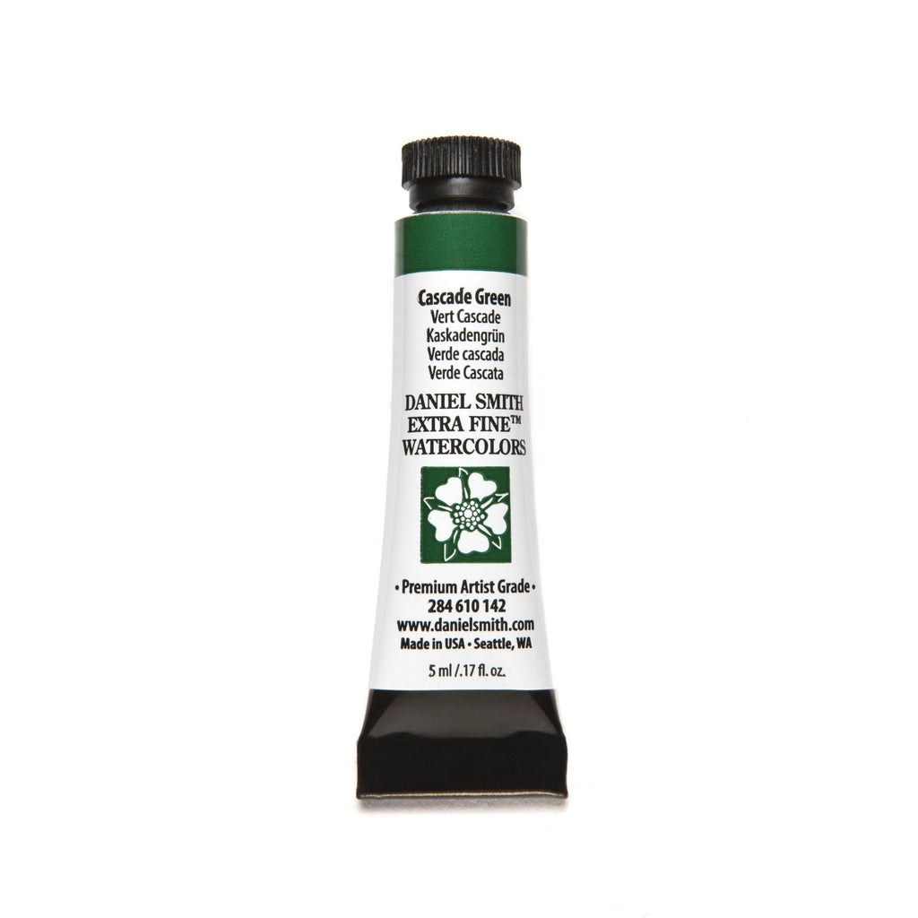 Daniel Smith Extra Fine Watercolor 5mL - Cascade Green