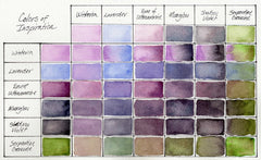 Daniel Smith Hand-Poured Watercolour Half Pan Set - Colors of Inspiration