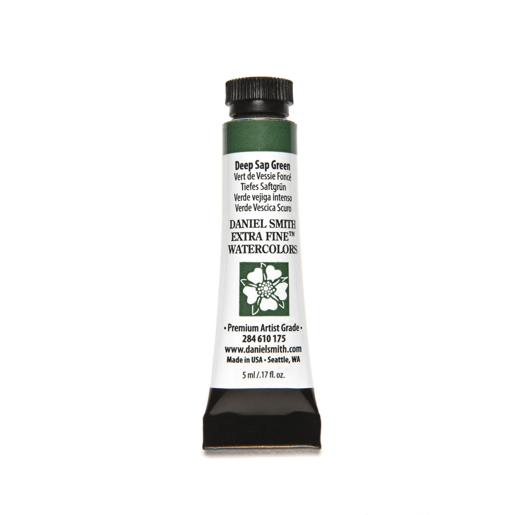 Daniel Smith Extra Fine Watercolor 5mL - Deep Sap Green