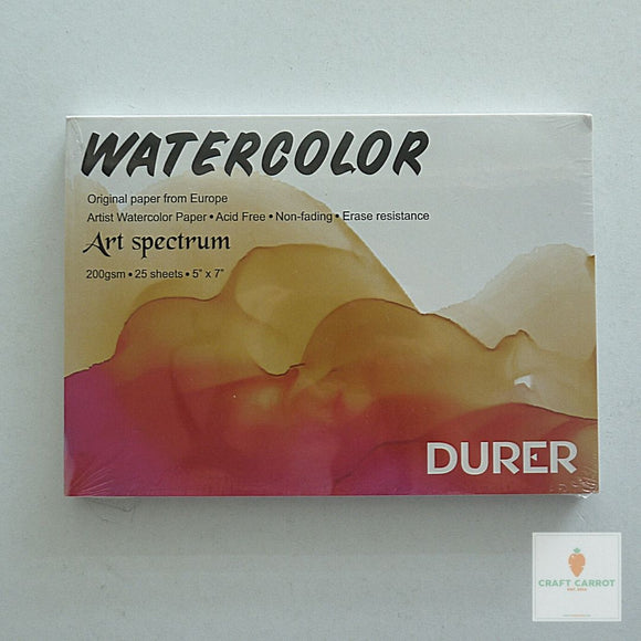Durer Watercolor Pad 5x7in 200gsm 25sh