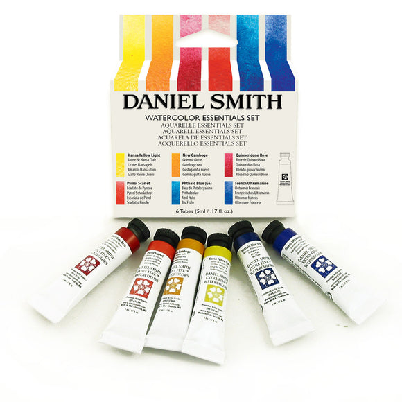 Daniel Smith Essentials Introductory Watercolor Set - 6 Tubes 5mL