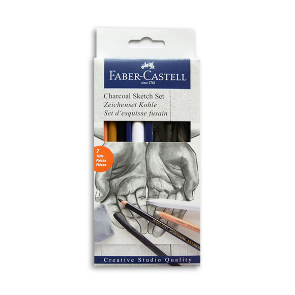 Faber-Castell Goldfaber Charcoal Sketch Set