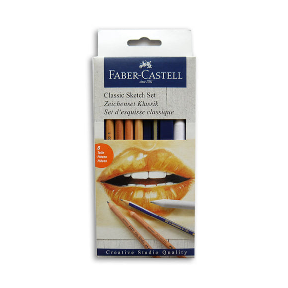 Faber-Castell Goldfaber Classic Sketch Set