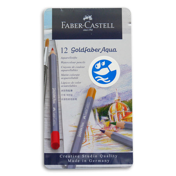 Faber-Castell Goldfaber Aqua Pencils Set of 12