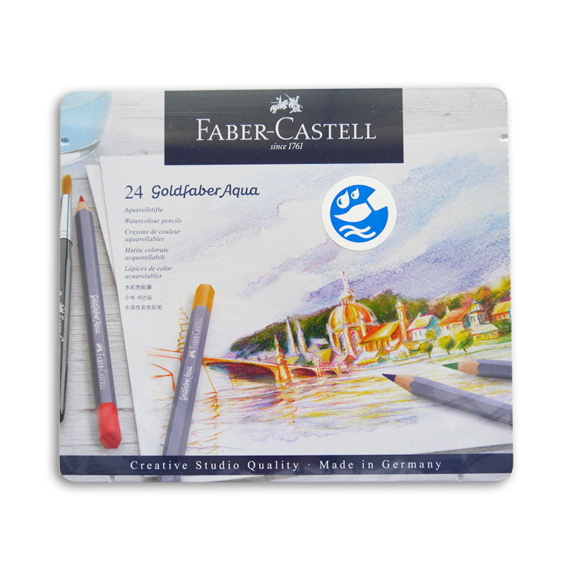 Faber-Castell Goldfaber Aqua Pencils Set of 24