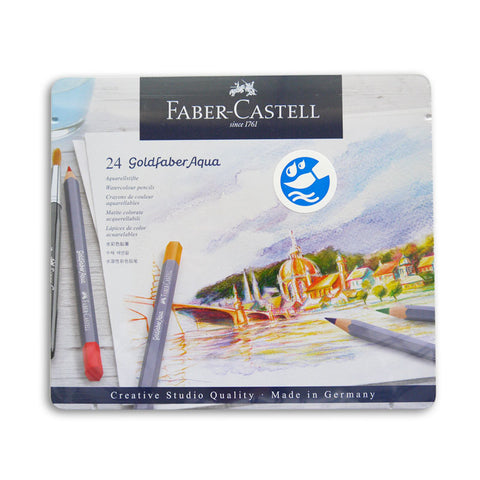 Goldfaber Watercolour Pencils Set of 24
