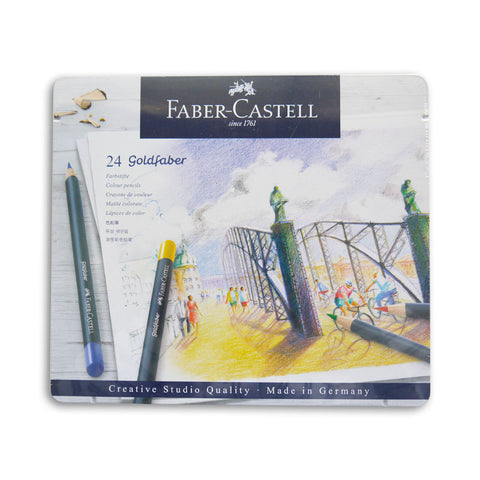 Goldfaber Colour Pencils Set of 24