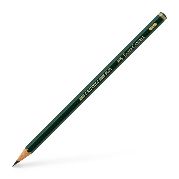Faber-Castell Graphite pencil CASTELL 9000 6B