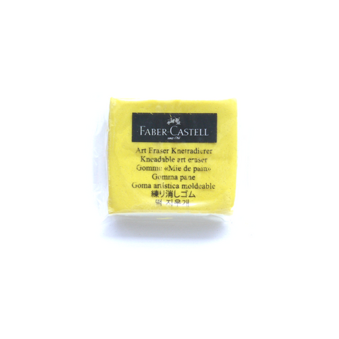 Faber-Castell Kneadable Eraser - Yellow