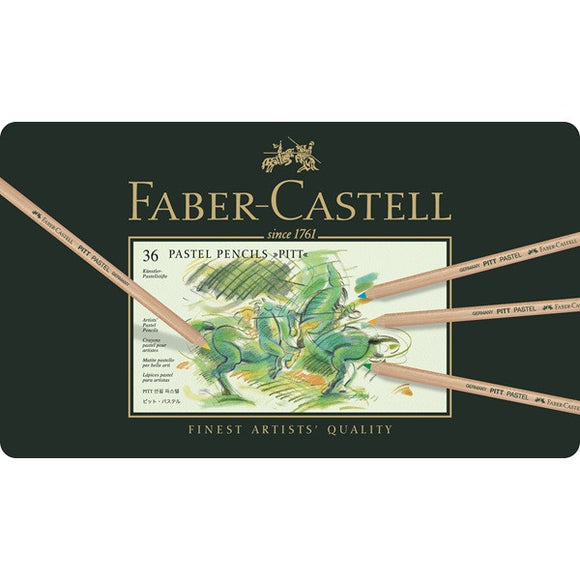 Faber-Castell Color pencil PITT PASTEL tin of 36