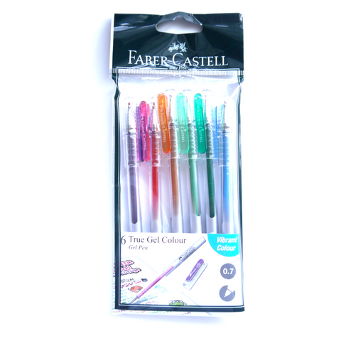 Faber-Castell True Gel 0.7 Set of 6