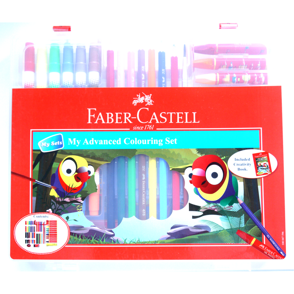 Faber-Castell Advanced Coloring Set