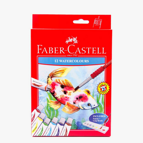 Faber-Castell Water Colours set of 12