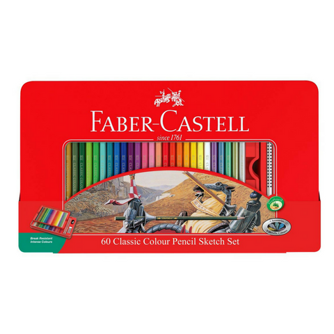 Faber-Castell Classic Coloured Pencils 60's