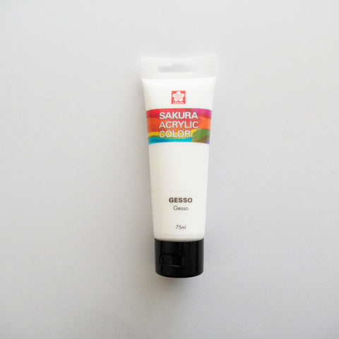 Sakura Acrylic Medium Gesso 75mL