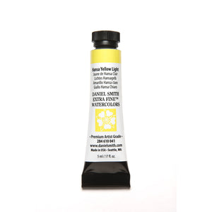 Daniel Smith Extra Fine Watercolor 5mL - Hansa Yellow Light