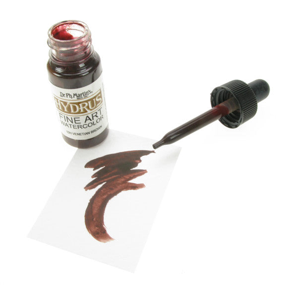 Dr. Ph. Martin's Hydrus Fine Art Watercolor 15mL - 10H Venetian Brown