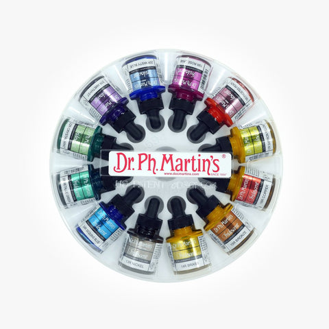 Dr PH Martin's Iridescent Calligraphy Color Set 2, 30mL