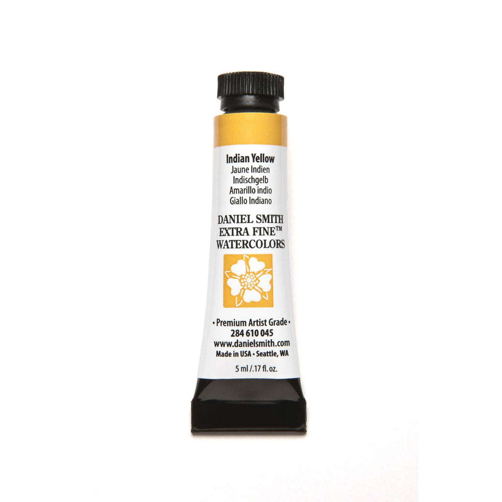 Daniel Smith Extra Fine Watercolor 5mL - Indian Yellow