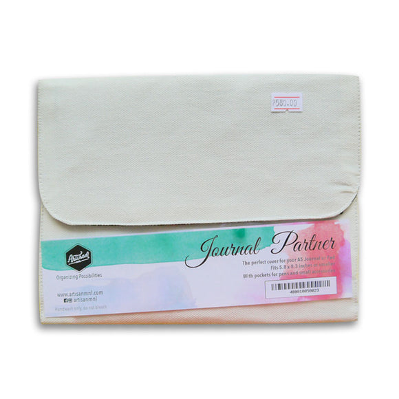 Journal Partner Canvas Cover