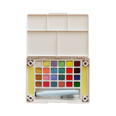 Sakura Koi CAC Watercolor Pocket Field Sketch Box - 24 colors