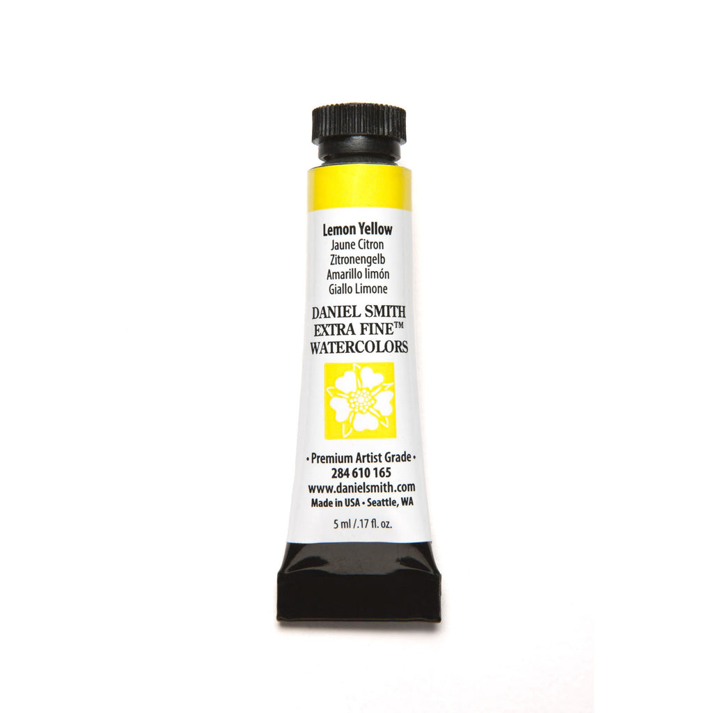 Daniel Smith Extra Fine Watercolor 5mL - Lemon Yellow