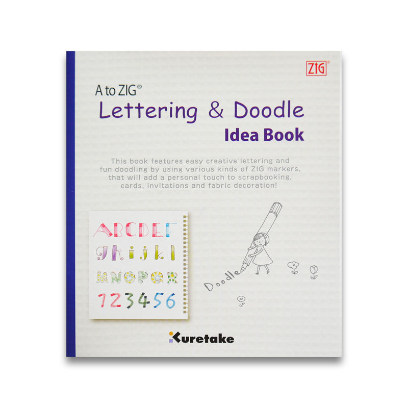 A to Zig Lettering and Doodle Idea Book
