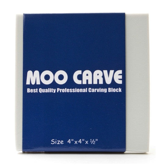 Moo Carve Carving Block - 4X4X0.50