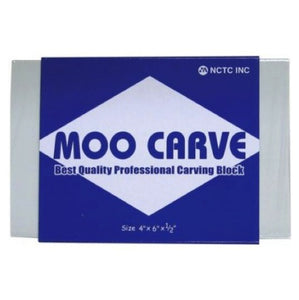 Moo Carve Carving Block - 4x6x0.50