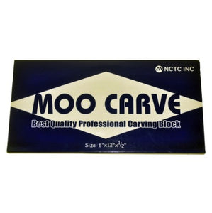 Moo Carve Carving Block - 6X12X0.5