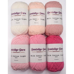 Gantsilyo Guru Milk Cotton Light Mini Color Palette