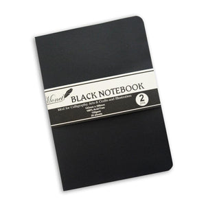 Monet Black Notebook - 2PK