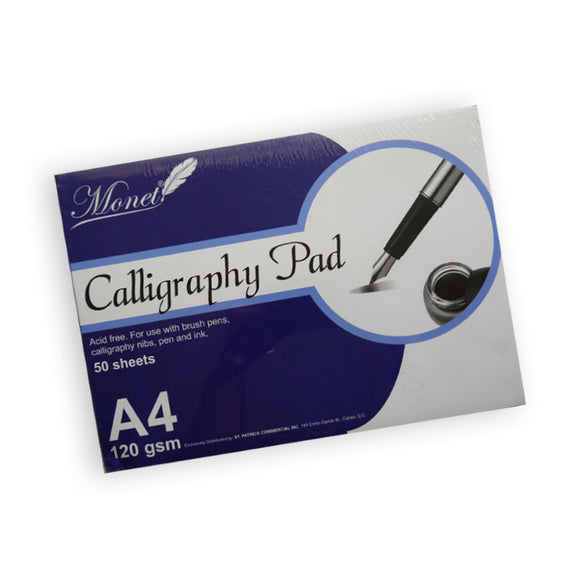 Monet Calligraphy Pad