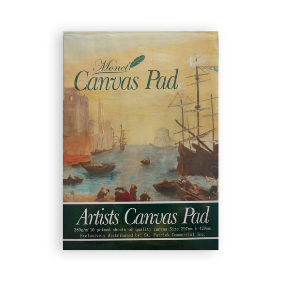 Monet Artist Canvas Pad A3